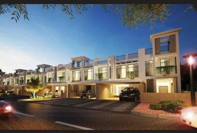 3 Bedroom Townhouse For Sale In The Polo Townhouses Meydan Gated Community By Starwood Properties