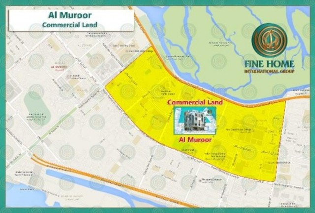 Image of Land for sale in Muroor Area, Abu Dhabi at Muroor Area, Abu Dhabi
