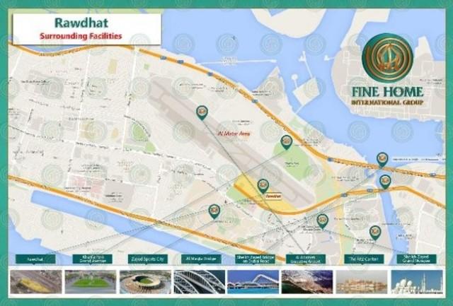 Image of Land for sale in Al Rawdah, Abu Dhabi at Al Rawdah, Abu Dhabi