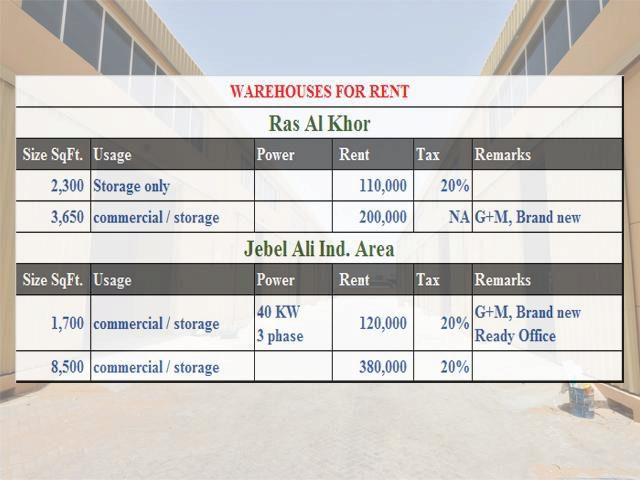 Image of Industrial to rent in Jebel Ali, Dubai at Jebel Ali, Dubai