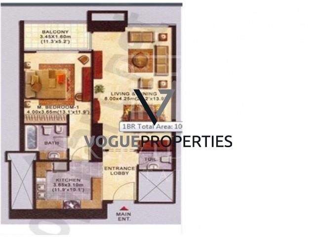 1 Bedroom Apartment To Rent In Jumeirah Lake Towers Dubai By Vogue Properties