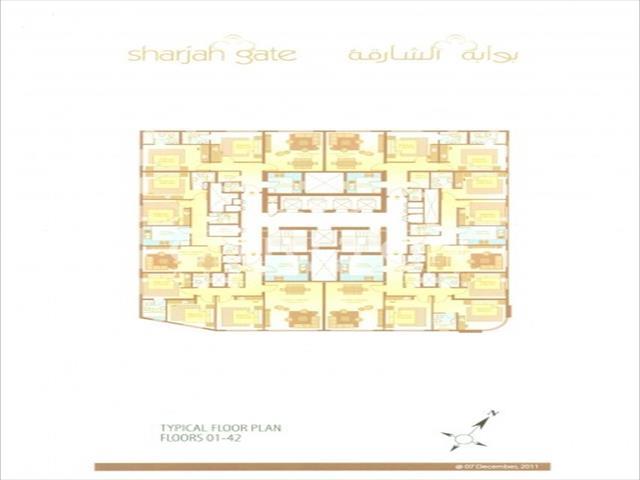 ... Image Of 3 Bedroom Apartment For Sale In Al Nahda, Sharjah At Sharjah  Gate,