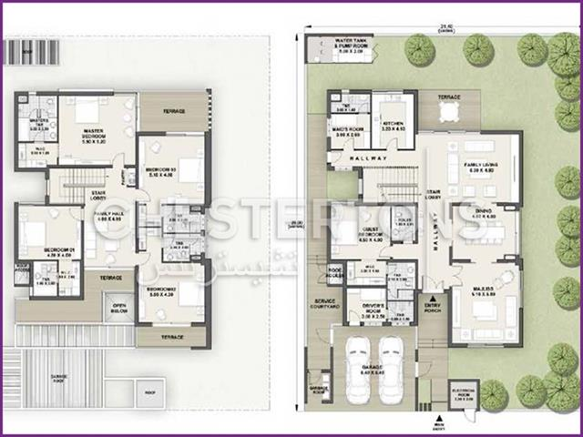 4 Bedroom Villa For Sale In Yas Island Abu Dhabi By Chestertons International