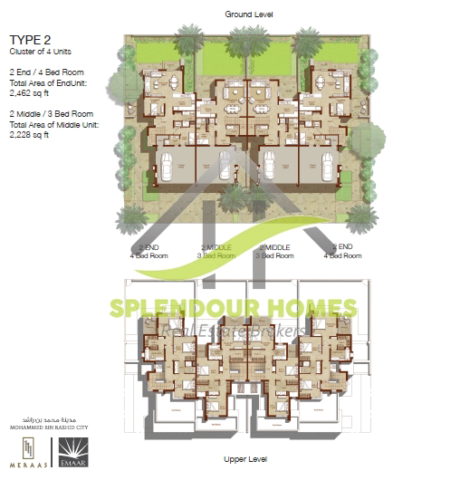5 Bedroom Townhouse For Sale In Maple At Dubai Hills Estate 1 Maple At Dubai Hills Estate By