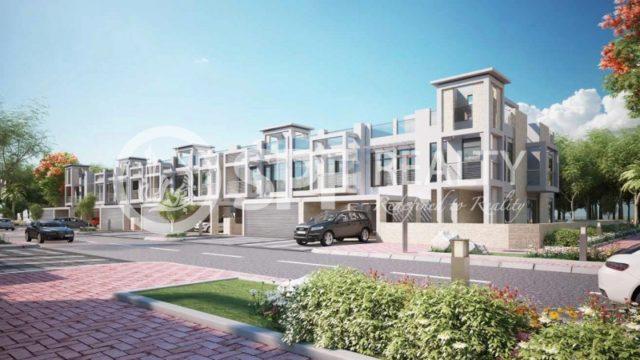 Image of 4 bedroom Villa to rent in Meydan City, Meydan Gated Community at Polo Townhouse, Meydan City, Dubai